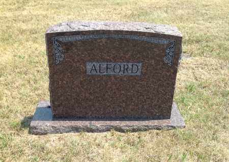 ALFORD, FAMILY STONE - Boyd County, Nebraska | FAMILY STONE ALFORD - Nebraska Gravestone Photos