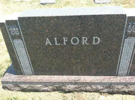 ALFORD, FAMILY STONE - Boyd County, Nebraska | FAMILY STONE ALFORD - Nebraska Gravestone Photos