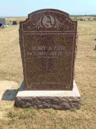 ALFORD, HENRY - Boyd County, Nebraska | HENRY ALFORD - Nebraska Gravestone Photos