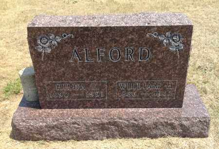 ALFORD, HILDA F. - Boyd County, Nebraska | HILDA F. ALFORD - Nebraska Gravestone Photos