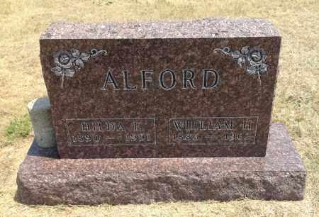 ALFORD, HILDA F. - Boyd County, Nebraska   HILDA F. ALFORD - Nebraska Gravestone Photos