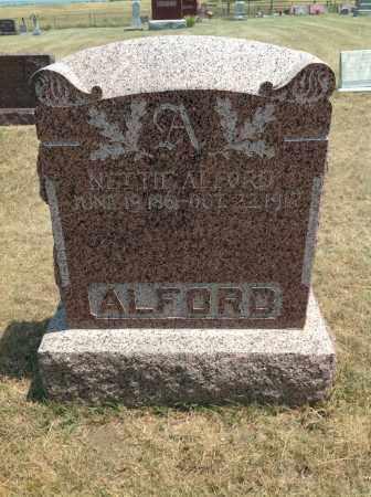 ALFORD, NETTIE - Boyd County, Nebraska | NETTIE ALFORD - Nebraska Gravestone Photos
