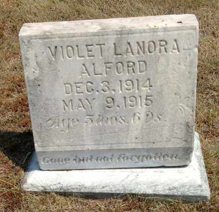 ALFORD, VIOLET LANORA - Boyd County, Nebraska | VIOLET LANORA ALFORD - Nebraska Gravestone Photos