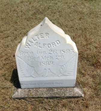 ALFORD, WALTER - Boyd County, Nebraska   WALTER ALFORD - Nebraska Gravestone Photos