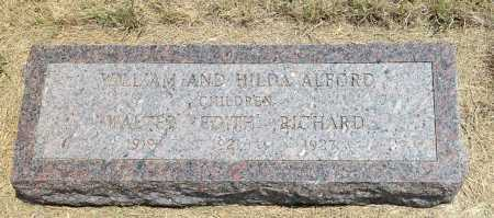 ALFORD, WALTER - Boyd County, Nebraska | WALTER ALFORD - Nebraska Gravestone Photos