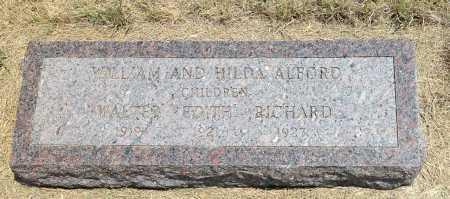 ALFORD, RICHARD - Boyd County, Nebraska   RICHARD ALFORD - Nebraska Gravestone Photos
