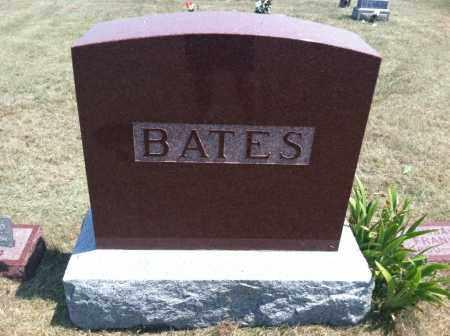 BATES, FAMILY STONE - Boyd County, Nebraska   FAMILY STONE BATES - Nebraska Gravestone Photos
