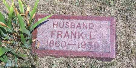 BATES, FRANK L. - Boyd County, Nebraska | FRANK L. BATES - Nebraska Gravestone Photos