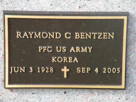BENTZEN, RAYMOND C. - Boyd County, Nebraska | RAYMOND C. BENTZEN - Nebraska Gravestone Photos
