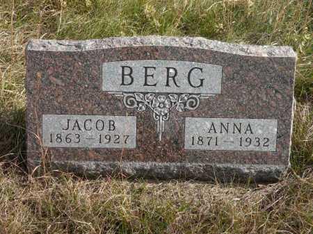 BERG, ANNA - Boyd County, Nebraska   ANNA BERG - Nebraska Gravestone Photos