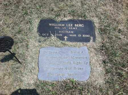 BERG, WILLIAM LEE - Boyd County, Nebraska | WILLIAM LEE BERG - Nebraska Gravestone Photos