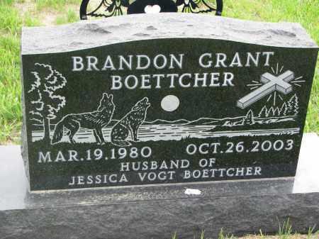 BOETTCHER, BRANDON GRANT - Boyd County, Nebraska | BRANDON GRANT BOETTCHER - Nebraska Gravestone Photos