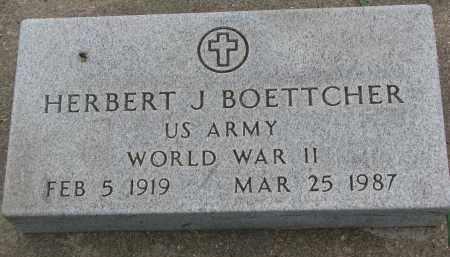 BOETTCHER, HERBERT J. - Boyd County, Nebraska | HERBERT J. BOETTCHER - Nebraska Gravestone Photos