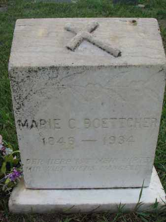 BOETTCHER, MARIE C. - Boyd County, Nebraska | MARIE C. BOETTCHER - Nebraska Gravestone Photos