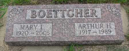 BOETTCHER, ARTHUR H. - Boyd County, Nebraska | ARTHUR H. BOETTCHER - Nebraska Gravestone Photos