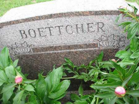 BOETTCHER, PLOT STONE - Boyd County, Nebraska | PLOT STONE BOETTCHER - Nebraska Gravestone Photos