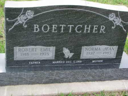 BOETTCHER, NORMA JEAN - Boyd County, Nebraska | NORMA JEAN BOETTCHER - Nebraska Gravestone Photos