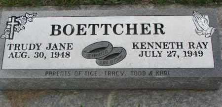 BOETTCHER, TRUDY JANE - Boyd County, Nebraska | TRUDY JANE BOETTCHER - Nebraska Gravestone Photos