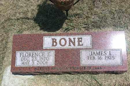 BONE, FLORENCE E. - Boyd County, Nebraska   FLORENCE E. BONE - Nebraska Gravestone Photos