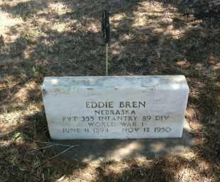 BREN, EDDIE - Boyd County, Nebraska | EDDIE BREN - Nebraska Gravestone Photos
