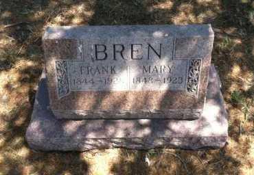 BREN, FRANK - Boyd County, Nebraska | FRANK BREN - Nebraska Gravestone Photos
