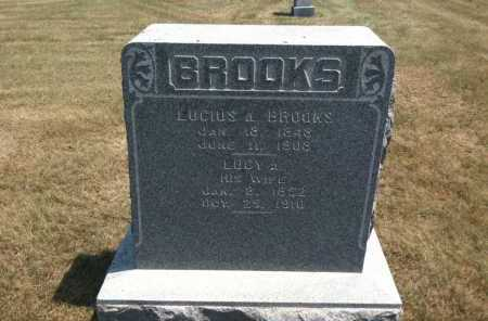BROOKS, LUCY A. - Boyd County, Nebraska | LUCY A. BROOKS - Nebraska Gravestone Photos