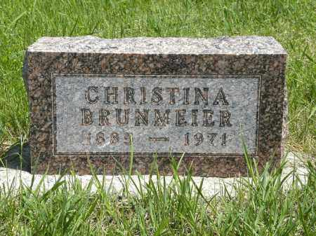BRUNMEIER, CHRISTINA - Boyd County, Nebraska | CHRISTINA BRUNMEIER - Nebraska Gravestone Photos