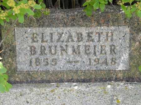 BRUNMEIER, ELIZABETH - Boyd County, Nebraska | ELIZABETH BRUNMEIER - Nebraska Gravestone Photos