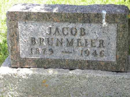 BRUNMEIER, JACOB - Boyd County, Nebraska | JACOB BRUNMEIER - Nebraska Gravestone Photos