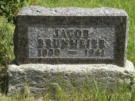 BRUNMEIER, JACOB - Boyd County, Nebraska | JACOB BRUNMEIER - Nebraska Gravestone Photos