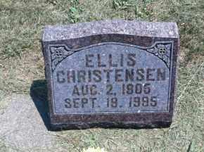 CHRISTENSEN, ELLIS - Boyd County, Nebraska | ELLIS CHRISTENSEN - Nebraska Gravestone Photos