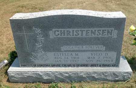 CHRISTENSEN, ESTELLA M. - Boyd County, Nebraska | ESTELLA M. CHRISTENSEN - Nebraska Gravestone Photos