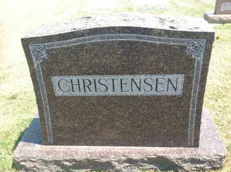 CHRISTENSEN, FAMILY STONE - Boyd County, Nebraska | FAMILY STONE CHRISTENSEN - Nebraska Gravestone Photos