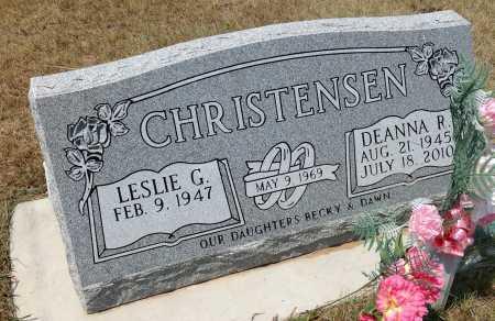 CHRISTENSEN, LESLIE G. - Boyd County, Nebraska | LESLIE G. CHRISTENSEN - Nebraska Gravestone Photos