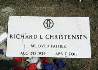 CHRISTENSEN, RICHARD L. - Boyd County, Nebraska | RICHARD L. CHRISTENSEN - Nebraska Gravestone Photos