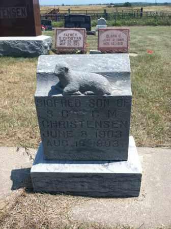 CHRISTENSEN, SIGFRED - Boyd County, Nebraska | SIGFRED CHRISTENSEN - Nebraska Gravestone Photos