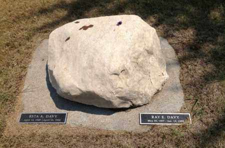 DAVY, ESTA A - Boyd County, Nebraska | ESTA A DAVY - Nebraska Gravestone Photos