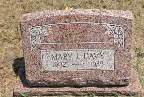 DAVY, MARY I - Boyd County, Nebraska | MARY I DAVY - Nebraska Gravestone Photos
