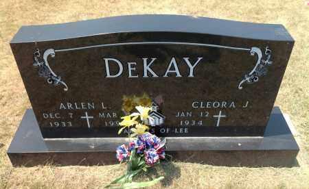 DEKAY, CLEORA J - Boyd County, Nebraska   CLEORA J DEKAY - Nebraska Gravestone Photos