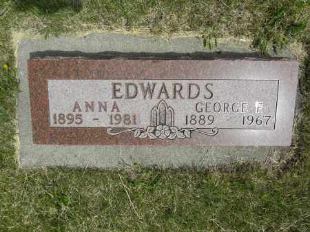 SCHERER EDWARDS, ANNA - Boyd County, Nebraska | ANNA SCHERER EDWARDS - Nebraska Gravestone Photos