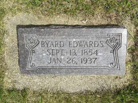 EDWARDS, BYARD DANIEL - Boyd County, Nebraska | BYARD DANIEL EDWARDS - Nebraska Gravestone Photos