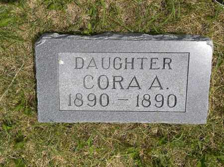 EDWARDS, CORA AMANDA - Boyd County, Nebraska | CORA AMANDA EDWARDS - Nebraska Gravestone Photos