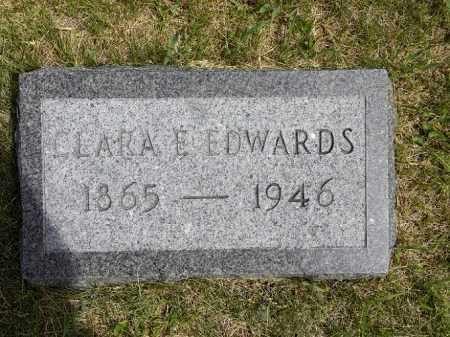 MCGINNIS EDWARDS, CLARA ELLA - Boyd County, Nebraska | CLARA ELLA MCGINNIS EDWARDS - Nebraska Gravestone Photos