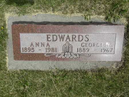 EDWARDS, GEORGE FRANK - Boyd County, Nebraska   GEORGE FRANK EDWARDS - Nebraska Gravestone Photos