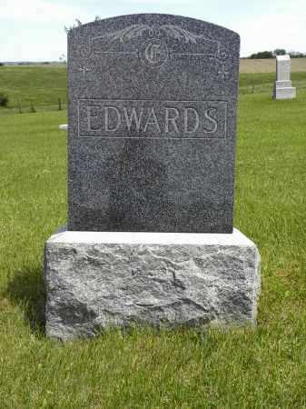 EDWARDS, HEADSTONE - Boyd County, Nebraska | HEADSTONE EDWARDS - Nebraska Gravestone Photos