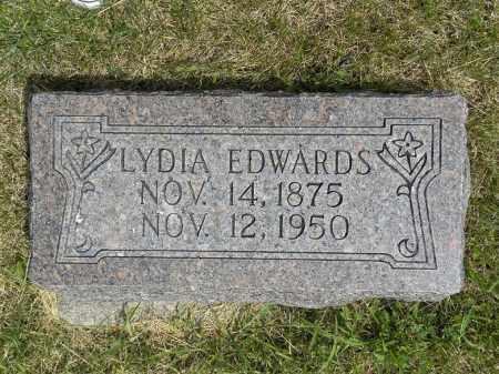 BLODGETT EDWARDS, LYDIA - Boyd County, Nebraska | LYDIA BLODGETT EDWARDS - Nebraska Gravestone Photos