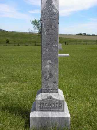 EDWARDS, LYDIA RUTH - Boyd County, Nebraska | LYDIA RUTH EDWARDS - Nebraska Gravestone Photos