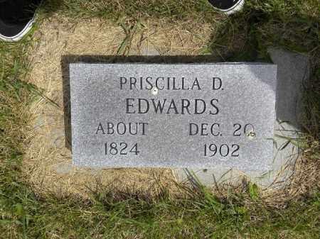 BARTLEY EDWARDS, PRISCILLA D. - Boyd County, Nebraska | PRISCILLA D. BARTLEY EDWARDS - Nebraska Gravestone Photos