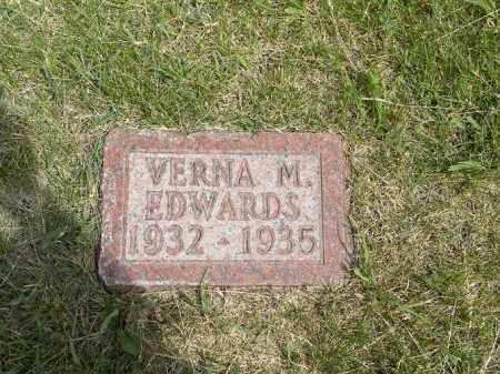 EDWARDS, VERNA MARIE - Boyd County, Nebraska | VERNA MARIE EDWARDS - Nebraska Gravestone Photos