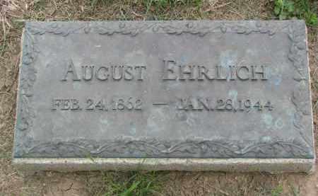 EHRLICH, AUGUST - Boyd County, Nebraska | AUGUST EHRLICH - Nebraska Gravestone Photos